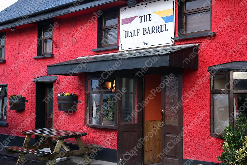 The Hald Barrel Pub, Whitegate.<br /><br />Photograph by Yvonne Vaughan.