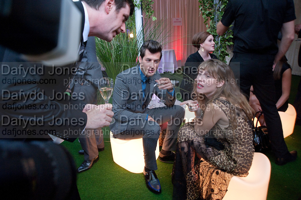 Mark Ronson; Josephine de la Baume, Glamour magazine Women of the Year Awards. Berkeley Square. London. 2 June 2009 *** Local Caption *** -DO NOT ARCHIVE-© Copyright Photograph by Dafydd Jones. 248 Clapham Rd. London SW9 0PZ. Tel 0207 820 0771. www.dafjones.com.<br /> Mark Ronson; Josephine de la Baume, Glamour magazine Women of the Year Awards. Berkeley Square. London. 2 June 2009