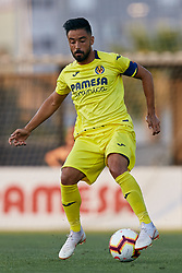 July 17, 2018 - Villareal, Castellon, Spain - Jaume Costa of Villarreal CF with the ball during the Pre-Season Friendly match between Villarreal CF and Hercules CF at Mini Estadi on July 17, 2018 in Vila-real, Spain  (Credit Image: © David Aliaga/NurPhoto via ZUMA Press)