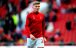 Taylor Moore of Bristol City prior to kick-off-Mandatory by-line: Nizaam Jones/JMP - 18/01/2020 - FOOTBALL - Ashton Gate - Bristol, England - Bristol City v Barnsley - Sky Bet Championship
