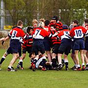 Jeugd Rugby Toernooi Hilversum, vechtpartij