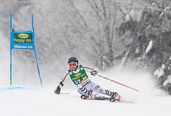 Julian Rauchfuss of Germany during 1st run of Men's Giant Slalom race of FIS Alpine Ski World Cup 57th Vitranc Cup 2018, on 3.3.2018 in Podkoren, Kranjska gora, Slovenia. Photo by Urban Meglič / Sportida