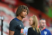 AFC Bournemouth Defender, Nathan Ake (5) during the Premier League match between Bournemouth and Leicester City at the Vitality Stadium, Bournemouth, England on 15 September 2018.