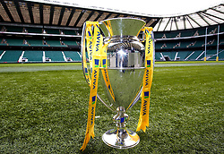 The 2017/18 Aviva Premiership Rugby Trophy at Twickenham for the launch of the 2017/18 season - Mandatory by-line: Robbie Stephenson/JMP - 24/08/2017 - RUGBY - Twickenham - London, England - Premiership Rugby Launch