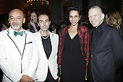 "12.JULY.2011. VERSAILLES<br /> <br /> FARIDA KHELFA, CHRISTIAN LOUBOUTIN AND DITA VON TEESE AT CLOSING PARTY FOR THE HAUTE-COUTURE COLLECTIONS AND OPENING OF THE EXHIBITION ""LE XVIII EME SIECLE AU GOUT DU JOUR, COUTURIERS ET CREATEURS DE MODE AU GRAND TRIANON"" AT VERSAILLES CASTLE, FRANCE.<br /> <br /> BYLINE: EDBIMAGEARCHIVE.COM<br /> <br /> *THIS IMAGE IS STRICTLY FOR UK NEWSPAPERS AND MAGAZINES ONLY*<br /> *FOR WORLD WIDE SALES AND WEB USE PLEASE CONTACT EDBIMAGEARCHIVE - 0208 954 5968*"