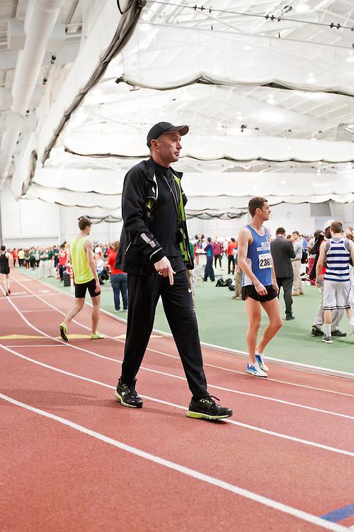 Boston University Terrier Invitational Indoor Track Meet: Oregon Project coach Alberto Salazar
