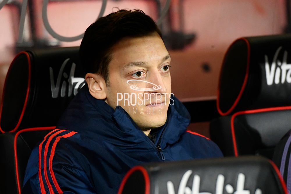 Mesut Ozil (10) of Arsenal during the The FA Cup match between Bournemouth and Arsenal at the Vitality Stadium, Bournemouth, England on 27 January 2020.