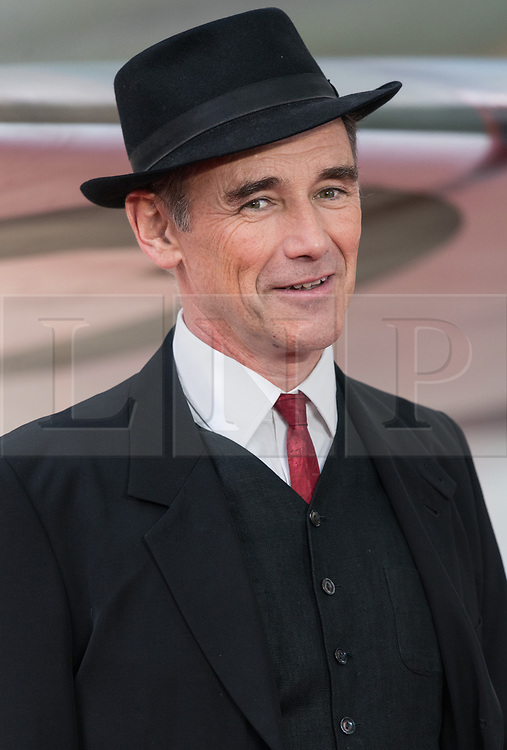 © Licensed to London News Pictures. 13/07/2017. London, UK. SIR MARK RYLANCE attends the Dunkirk World Film Premiere. Photo credit: Ray Tang/LNP