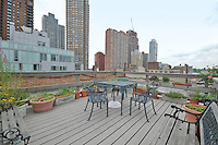 Roof Deck at 461 West 44th St