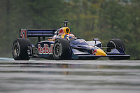 Alex Barron in the wet at Watkins Glen International, Watkins Glen Indy Grand Prix, September 25, 2005