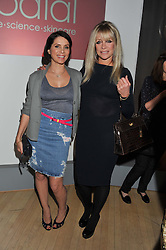 Left to right, SADIE FROST and JO WOOD at the 2012 Rodial Beautiful Awards held at The Sanderson Hotel, Berners Street, London on 6th March 2012.