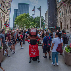 Shesus Cries, Wall Street, Manhattan, New York, US