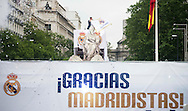 Real Madrid players celebrate winning the UEFA Champions League with an open top bus tour at Cibeles Square, Madrid<br /> Picture by EXPA Pictures/Focus Images Ltd 07814482222<br /> 29/05/2016<br /> ***UK &amp; IRELAND ONLY***<br /> EXPA-ESP-160529-0120.jpg