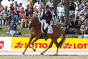 Holga Finken - Domenikus 2<br /> FEI World Breeding Dressage Championships for Young Horses 2012<br /> © DigiShots