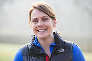 Olympian Kelly Sotherton races a horse in Rotten Row, Hyde Park to launch 2015's Whole Earth Man V Horse marathon, taking place in Llanwrtyd Wells, Wales on the 13th June. The Man v Horse Marathon began in June 1980 following a friendly dispute in a Welsh bar. The Landlord overheard the two men discussing the relative merits of men and horses running over mountainous terrain and who was more suited to it. To settle the argument the then landlord, Gordon Green, created the now long standing and international event, Man versus Horse Marathon.