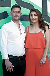 Edinburgh International Film Festival, Saturday, 24 June 2018<br /> <br /> PAPILLON (UK PREMIERE)<br /> <br /> Pictured:  Michael Socha and his girlfriend Lacey Palmer<br /> <br /> (c) Alex Todd   Edinburgh Elite media
