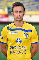 STVV's Alfonso Artabe poses for the photographer during the 2015-2016 season photo shoot of Belgian first league soccer team STVV, Friday 17 July 2015 in Sint-Truiden.