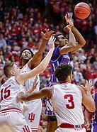 NCAA Basketball - Indiana Hoosiers vs Northwestern Wildcats - Bloomington, In