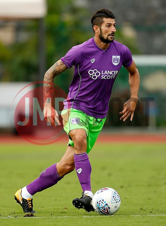 Eros Pisano of Bristol City - Mandatory by-line: Matt McNulty/JMP - 22/07/2017 - FOOTBALL - Tenerife Top Training - Costa Adeje, Tenerife - Bristol City v Atletico Union Guimar  - Pre-Season Friendly