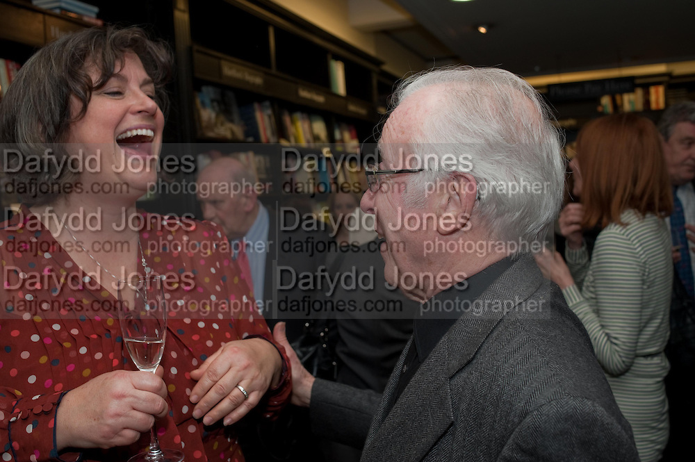 ANNIE HERRIOTT; JEAN REYNAUD, Relish: My Life on a Plate by Prue Leith. Hatchards. Piccadilly, London. 14 March 2012.