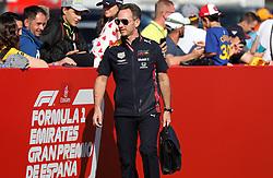 May 12, 2019 - Barcelona, Catalonia, Spain - Christian Horner, from Red Bull, during the GP Spain Formula 1, on 12th May 2019, Barcelona, Spain. (Credit Image: © Joan Valls/NurPhoto via ZUMA Press)