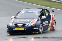 #21 Glynn Geddie (GBR) - United Autosports Toyota Avensis during first practice for the BTCC  at Oulton Park, Little Budworth, Cheshire, United Kingdom. June 07 2014. World Copyright Peter Taylor/PSP. Copy of publication required for printed pictures.  Every used picture is fee-liable. http://archive.petertaylor-photographic.co.uk