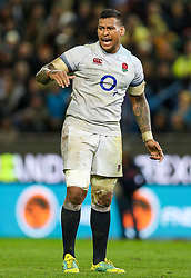 Nathan Hughes of England- Mandatory by-line: Steve Haag/JMP - 23/06/2018 - RUGBY - DHL Newlands Stadium - Cape Town, South Africa - South Africa v England 3rd Test Match, South Africa Tour