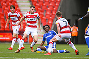 Ben Whiteman of Doncaster Rovers (8) in action during the EFL Sky Bet League 1 match between Doncaster Rovers and Gillingham at the Keepmoat Stadium, Doncaster, England on 3 August 2019.