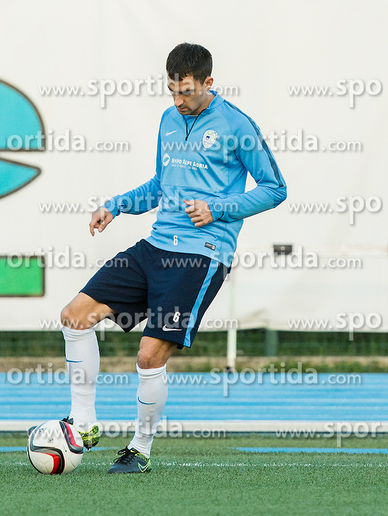 Branko Ilic of Slovenia during the practice session of Team Slovenia 1 day before EURO 2016 Qualifier Group E match between Slovenia and San Marino, on October 11, 2015 in Riccione, Italy. Photo by Vid Ponikvar / Sportida
