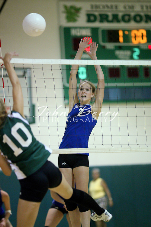 MCHS Varsity Volleyball .at William Monroe.9/4/2008
