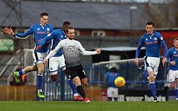 Jack Marriott of Peterborough United in action against Rochdale - Mandatory by-line: Joe Dent/JMP - 25/11/2017 - FOOTBALL - Crown Oil Arena - Rochdale, England - Rochdale v Peterborough United - Sky Bet League One