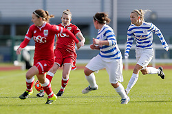 Frankie Fantom-Brown of Bristol City Women - Mandatory byline: Rogan Thomson/JMP - 14/02/2016 - FOOTBALL - Stoke Gifford Stadium - Bristol, England - Bristol City Women v Queens Park Rangers Ladies - SSE Women's FA Cup Third Round Proper.
