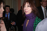 andrew Roberts and Leonie Frieda celebrate the publication of Andrew's 'Waterloo: Napoleon's Last Gamble' and the paperback of Leonie's 'Catherine de Medic'i. English-Speaking Union, Dartmouth House. London. 8 February 2005. ONE TIME USE ONLY - DO NOT ARCHIVE  © Copyright Photograph by Dafydd Jones 66 Stockwell Park Rd. London SW9 0DA Tel 020 7733 0108 www.dafjones.com