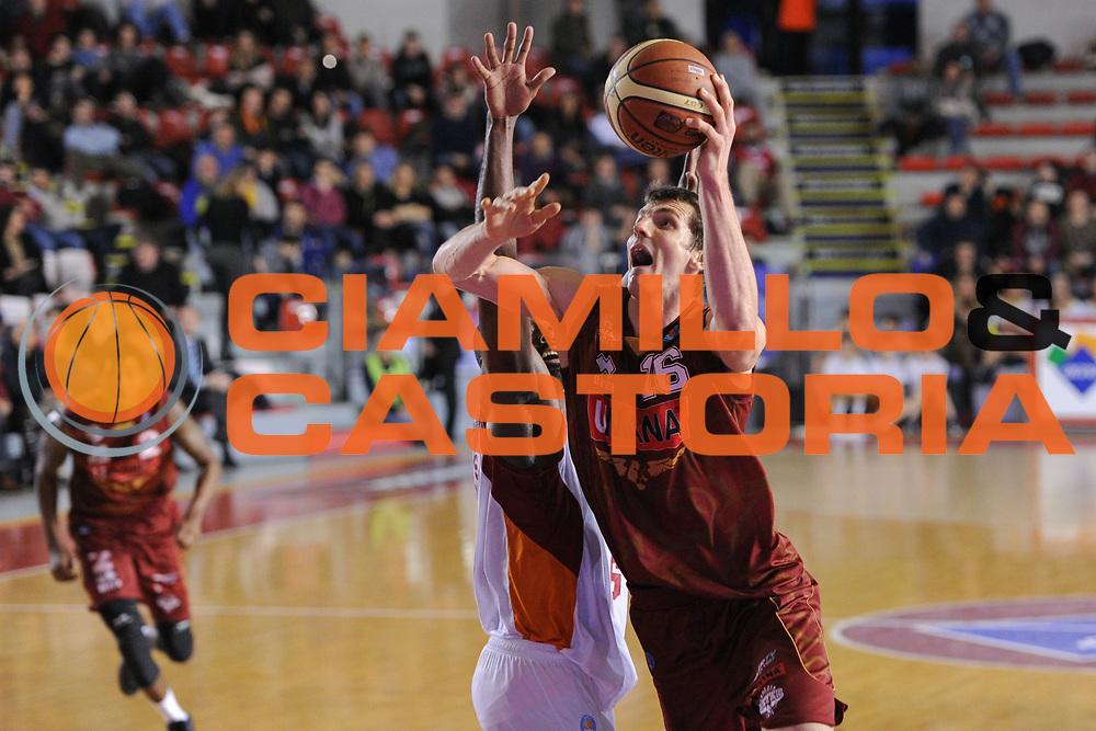DESCRIZIONE : Roma Lega A 2014-15 Acea Roma Umana Venezia<br /> GIOCATORE : Benjamin Ortner<br /> CATEGORIA : Tiro penetrazione<br /> SQUADRA : Umana Venezia<br /> EVENTO : Campionato Lega A 2014-2015<br /> GARA : Acea Roma Umana Venezia<br /> DATA : 01/02/2015<br /> SPORT : Pallacanestro <br /> AUTORE : Agenzia Ciamillo-Castoria/G. Masi<br /> Galleria : Lega Basket A 2014-2015<br /> Fotonotizia : Roma Lega A 2014-15 Acea Roma Umana Venezia