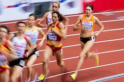 03-02-2017  SRB: European Athletics Championships indoor day 1, Belgrade<br /> In een lege Kombank Arena wordt de eerste dag van het Europees Kampioenschap gehouden / Maureen Koster gaat als achtste de finale in