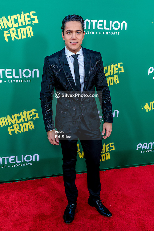 LOS ANGELES, CA - AUGUST 31 Actor Mario Moran attends the red carpet premiere of the film No Manches Frida the the Regal Cinemas in downtown Los Angeles on Tuesday night 2016 August 31. Byline, credit, TV usage, web usage or linkback must read SILVEXPHOTO.COM. Failure to byline correctly will incur double the agreed fee. Tel: +1 714 504 6870.