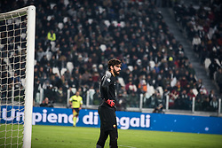 December 23, 2017 - Turin, Piemonte/Torino, Italy - Allisson B (As Roma) during the football match Serie A: Juventus FC vs AS Roma. Juventus won 1-0 at Allianz Stadium in Turin, Italy 23th december 2017. (Credit Image: © Alberto Gandolfo/Pacific Press via ZUMA Wire)