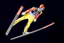 08.01.2016, Mühlenkopfschanze, Willingen, GER, FIS Weltcup Ski Sprung, Willingen, im Bild Stephan Leyhe, Deutschland // during Skijumping Qualification of FIS Skijumping World Cup at the Mühlenkopfschanze in Willingen, Germany on 2016/01/08. EXPA Pictures © 2016, PhotoCredit: EXPA/ Eibner-Pressefoto/ Socher<br /> <br /> *****ATTENTION - OUT of GER*****