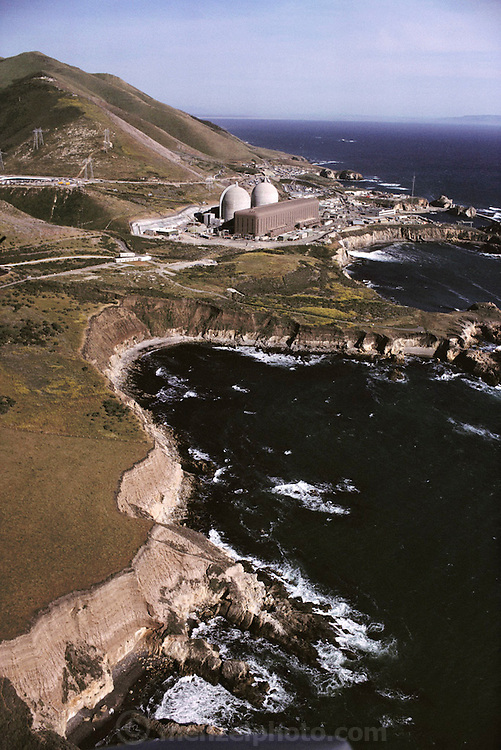 Nuclear Energy: California Diablo Canyon Nuclear Power Plant in California. The plant has two reactor units, which combined have a net power capacity of nearly 1200 megawatts. The plant, operated by the Pacific Gas and Electric Company, became commercially operational in 1977. (1985).