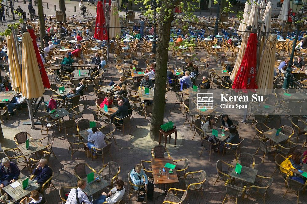 Outdoor cafe, Amsterdam, Netherlands