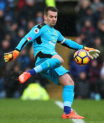 Thomas Heaton of Burnley - Mandatory by-line: Matt McNulty/JMP - 12/02/2017 - FOOTBALL - Turf Moor - Burnley, England - Burnley v Chelsea - Premier League