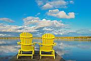 Muskoka chairs <br /><br />Ontario<br />Canada