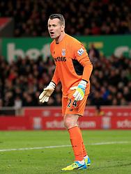Shay Given of Stoke City  - Mandatory by-line: Matt McNulty/JMP - 18/04/2016 - FOOTBALL - Britannia Stadium - Stoke, England - Stoke City v Tottenham Hotspur - Barclays Premier League