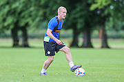 Forest Green Rovers Marcus Kelly during the Forest Green Rovers Training at the Cirencester Agricultural College, Cirencester, United Kingdom on 12 July 2016. Photo by Shane Healey.
