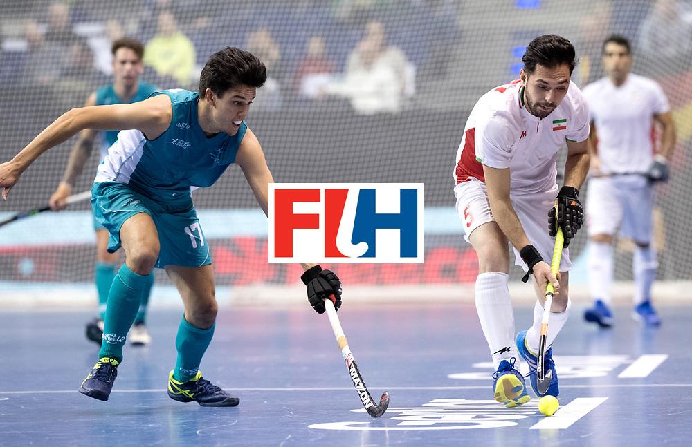 BERLIN - Indoor Hockey World Cup<br /> Bronze: Iran - Australia<br /> Iran won the 3rd place.<br /> foto: SADI Behnam.<br /> WORLDSPORTPICS COPYRIGHT FRANK UIJLENBROEK