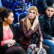 CRO/Zagreb/20130315- K1 WGP Finale Zagreb, dochter Joelle, Estelle Cruijff en een vriend