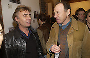 Glenn Matlock and Anthony Hayden-Guest, Babyshambles Exhibition , Photographs by Danny Clifford <br />The Old Sony Ericsson Proud Galleries, Greenland St. Camden, London  5 December  2005. ONE TIME USE ONLY - DO NOT ARCHIVE  © Copyright Photograph by Dafydd Jones 66 Stockwell Park Rd. London SW9 0DA Tel 020 7733 0108 www.dafjones.com