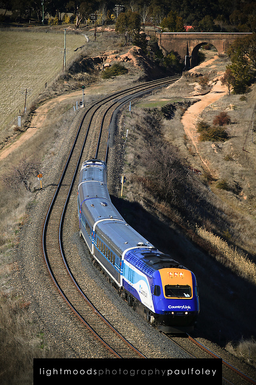 Countrylink Train near Bathurst, NSW, Australia