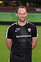 Christophe Marichez of Metz during photoshooting of Fc Metz for season 2017/2018 on August 2nd 2017 in Metz<br /> Photo : Fred Marvaux / Icon Sport