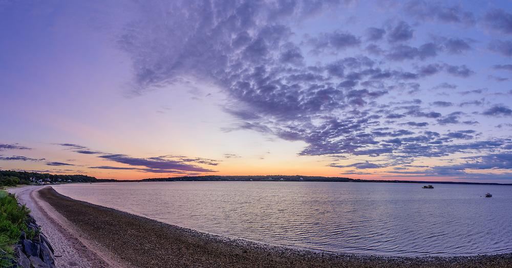 Cutchogue Bay, Sunrise, Cutchogue, NY